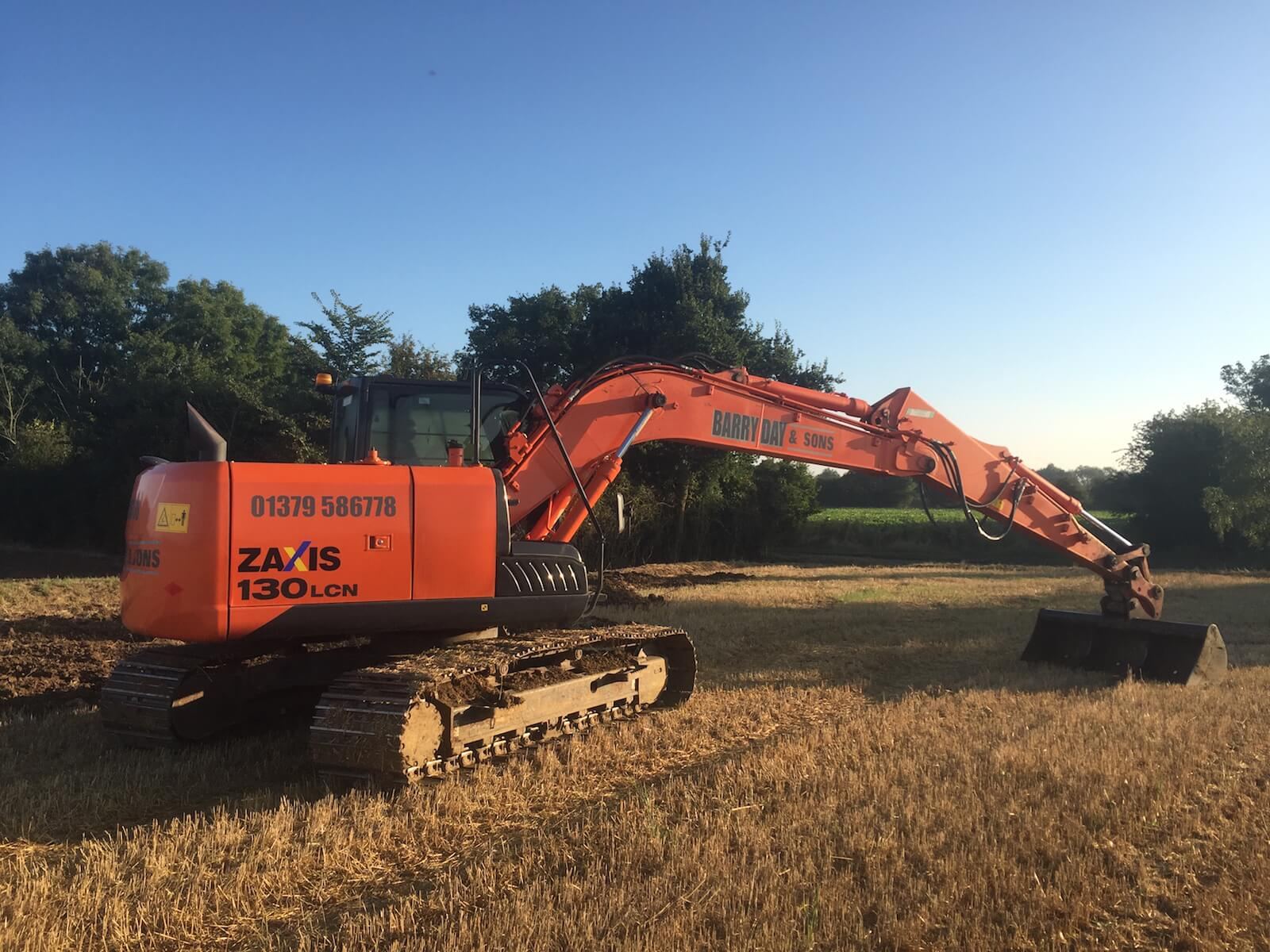 Barry Day & Sons Machinery Contractors Norfolk & Suffolk