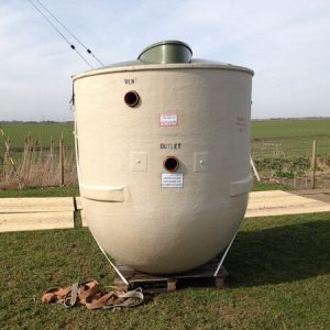 Dirty water Tanks and Treatment plant Instalation